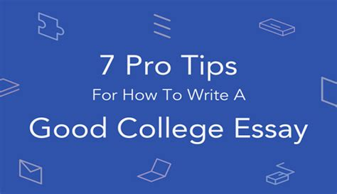 How to Write a Good Essay for Your MBA Application